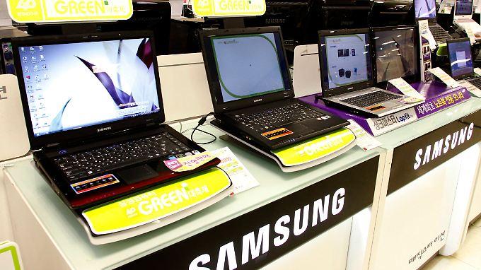 Samsung spielte auf dem europäischen PC-Markt keine übergeordnete Rolle.