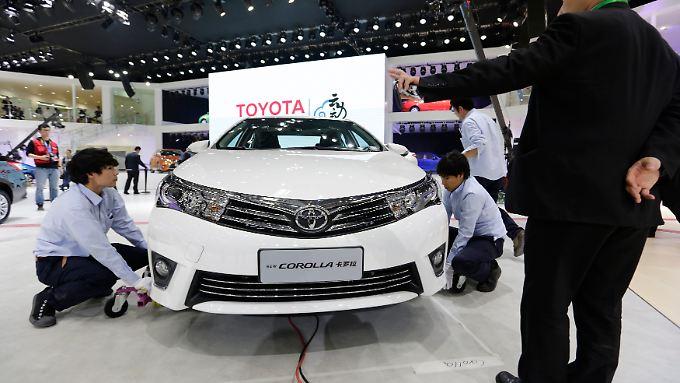 Toyota Corolla und Levin sedans sollen als Hybrid-Modelle in China auf den Markt kommen. Bringen sie den nötigen frischen Wind?