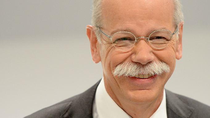 29,9 Millionen Euro hat Daimler für die Altersversorgung seines Chefs Dieter Zetsche zurückgelegt.