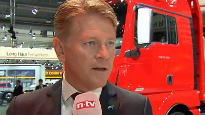 """MAN-Chef Nielsen im Interview: """"Konflikt mit Russland bereitet MAN einige Schwierigkeiten"""""""