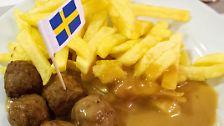 … ein beliebtes schwedisches Gericht. Ganz im Gegensatz …