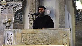 IS-Anführer Bagdadi.