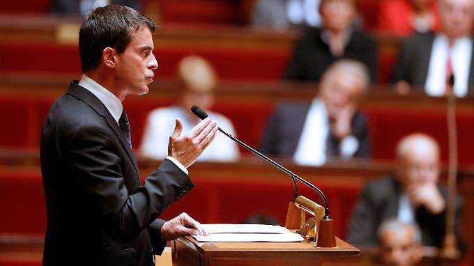 2017 will die Regierung von Premierminister Manuel Valls die jährliche Neuverschuldung wieder unter drei Prozent der Wirtschaftsleistung drücken