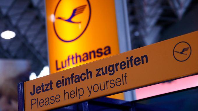 In Frankfurt läuft nicht viel am Lufthansa-Terminal.