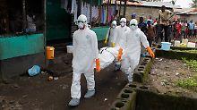 Der Wellen-Effekt der Seuche: Ebola fordert noch viel mehr Opfer
