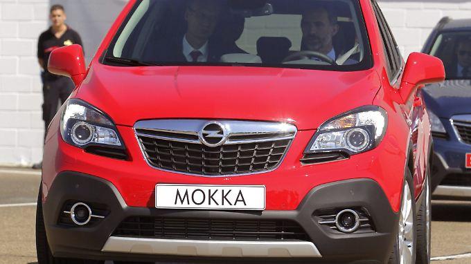 Bei Opel setzt man unter anderem auf den Mokka.