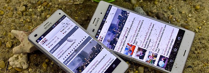 Xperia Z3 und Xperia Z3 Compact: Sony bietet iPhone-Alternativen