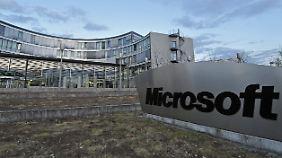 Der Sitz von Microsoft in Unterschleißheim.
