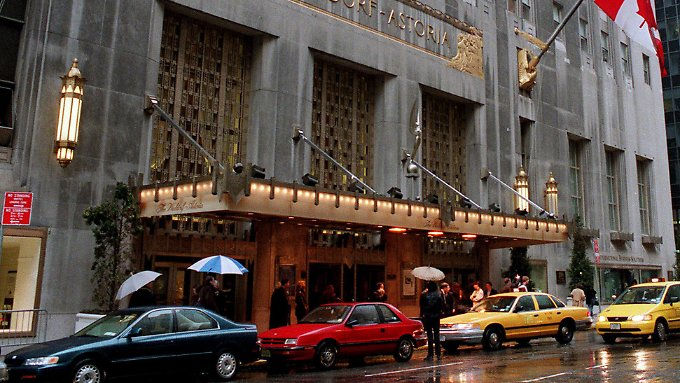 Das Waldorf Astoria in New York gilt als Hotel-Legende.