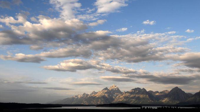 Sonnenaufgang über der Teton-Gebirgskette in Wyoming. Die Ruhe der Landschaft steht im krassen Kontrast zur Nervosität der Märkte.
