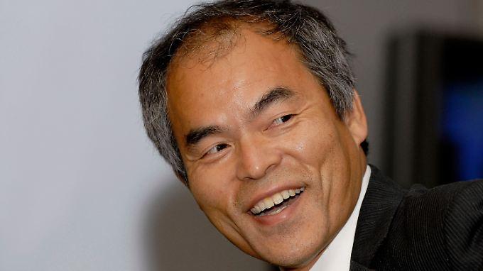 Unter den drei Ausgezeichneten ist der japanisch-amerikanische Wissenschaftler Shuji Nakamura.