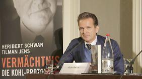 """Verlagsjustiziar Rainer Dresen lieferte sich einen Wortwechsel mit zwei """"Bild""""-Mitarbeitern."""