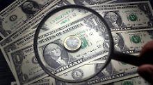 Dollar verliert an Boden: Euro kann leicht zulegen