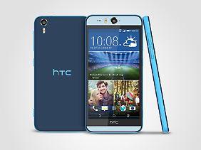 Gut für Selfies: das HTC Desire Eye.