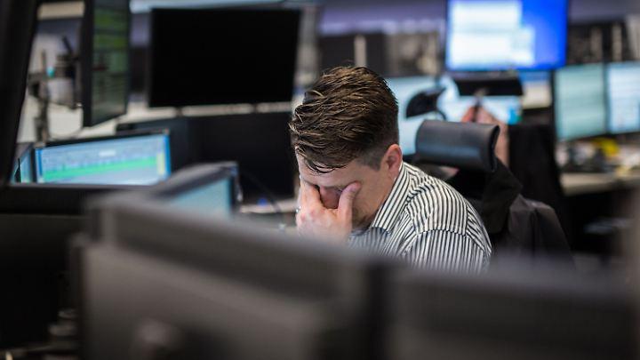 An der Frankfurter Börsen ging es dieses Jahr abwärts.