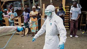 70-70-60-Plan gegen die Seuche: WHO fürchtet bis zu 10.000 Ebola-Fälle pro Woche