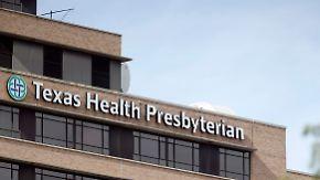 Rasant steigende Zahlen erwartet: Weitere Pflegekraft in Texas mit Ebola infiziert