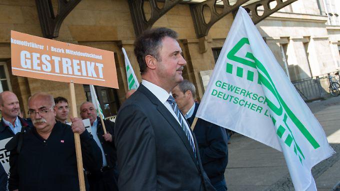 Nach dem Streik ist vor dem Streik: GDL-Chef Claus Weselsky