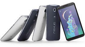 Das Nexus 6 ist riesig, deshalb bleibt auch das Nexus 5 - zumindest vorerst - im Play Store erhältlich.