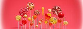 Begehrtes Lollipop-Update: Diese Geräte erhalten Android 5.0