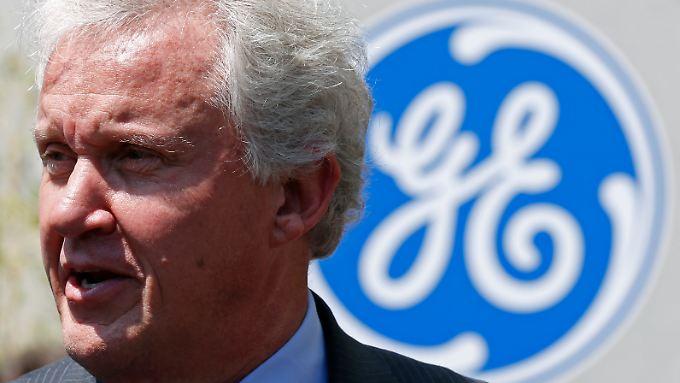 GE-Vorstandschef Jeff Immelt präsentiert glänzende Zahlen.