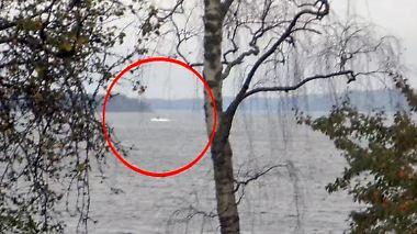 Notruf in russischer Sprache?: Schwedisches Militär sucht nach ausländischem U-Boot