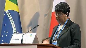 """Appell von Liberias Botschafterin: """"Ebola tötet schneller als der Bürgerkrieg"""""""