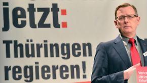Thüringen vor historischem Bündnis: SPD-Spitze votiert für Rot-Rot-Grün