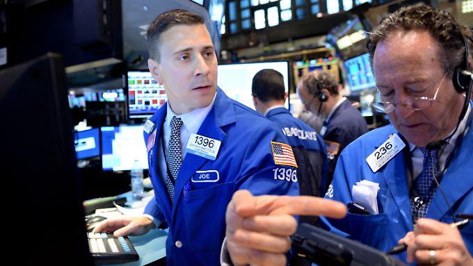 Die wichtigste Börse der Welt: die NYSE.