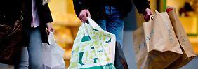 Abwärtstrend gestoppt: Verbraucher sind überraschend guter Laune