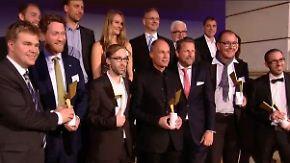 Energy Awards verliehen: Goldener Blitz für zündende Ideen