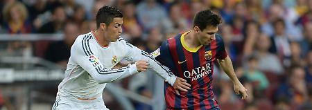 """Ronaldo, Messi und der """"Beißer"""": Der Clásico verspricht Spektakel"""