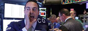 Verunsicherte Investoren: Warum die US-Börsen schwanken