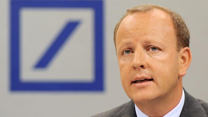 Er arbeitete in turbulenten Zeiten bei der Deutschen Bank als Finanzvorstand: Stefan Krause.