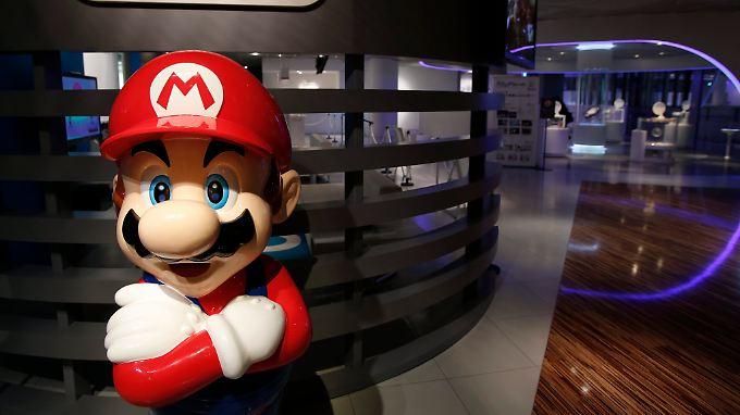 """Im abgelaufenen Quartal verhalf das neue Spiel """"Mario Kart 8"""" Nintendo überraschend in die schwarzen Zahlen."""