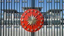 So groß wie 50 Fußballfelder: Erdogans neuer Prunkpalast