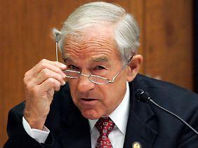 Die Kongresswahlen stehen vor der Tür: Ron Paul weiß, was US-Wähler in Wallungen bringt.