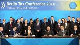 Steueroasen sind Vergangenheit: 51 Staaten sagen Steuersündern den Kampf an