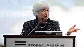 Zinssatz unverändert: Fed stellt Konjunkturspritzen ein