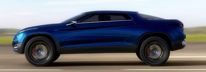 Coupé, Fließheck, Limousine? Der Fiat FCC4 ist eine Mischung aus Allem.