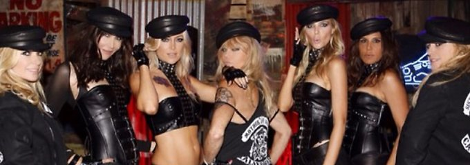 """""""Mother of Anarchy"""": Kate Hudson im sexy Biker-Look"""