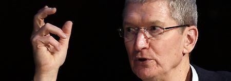 """""""Was bringt er? Ebola?"""": Apple-Chef Cook will Vorbild sein"""