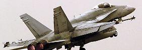 Kanadische F-18-Maschinen sollen im Kampf gegen die IS-Terroristen helfen.