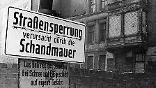 ... die fast dreißig Jahre lang Ost- und Westdeutschland trennten.