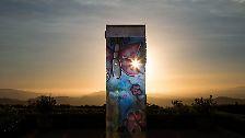 Auf der ganzen Welt verteilt: Wo die Berliner Mauer überall steht