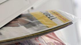 Liegt wöchentlich in vielen deutschen Briefkästen und wandert nicht selten ungelesen in den Müll: Einkauf Aktuell
