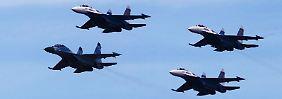 Ende Oktober flog das russische Militär ungewöhnliche Manöver über Europa.