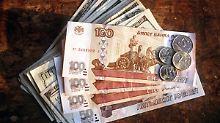 Opec setzt Ölwährungen zu: Rubel fällt auf Rekordtief