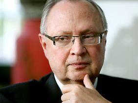 Martin Kannegiesser ist Präsident des Arbeitgeberverbandes Gesamtmetall.
