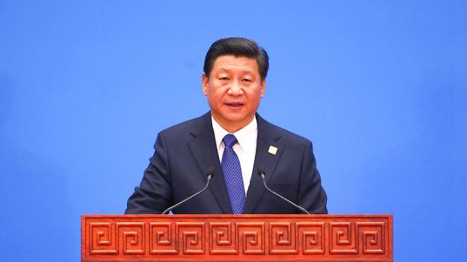 Chinas Präsident Xi Jinping bei der Abschlussrunde des Apec-Gipfels. Im Streit um Freihandelszonen gab es in Peking einen Punktsieg für die USA.
